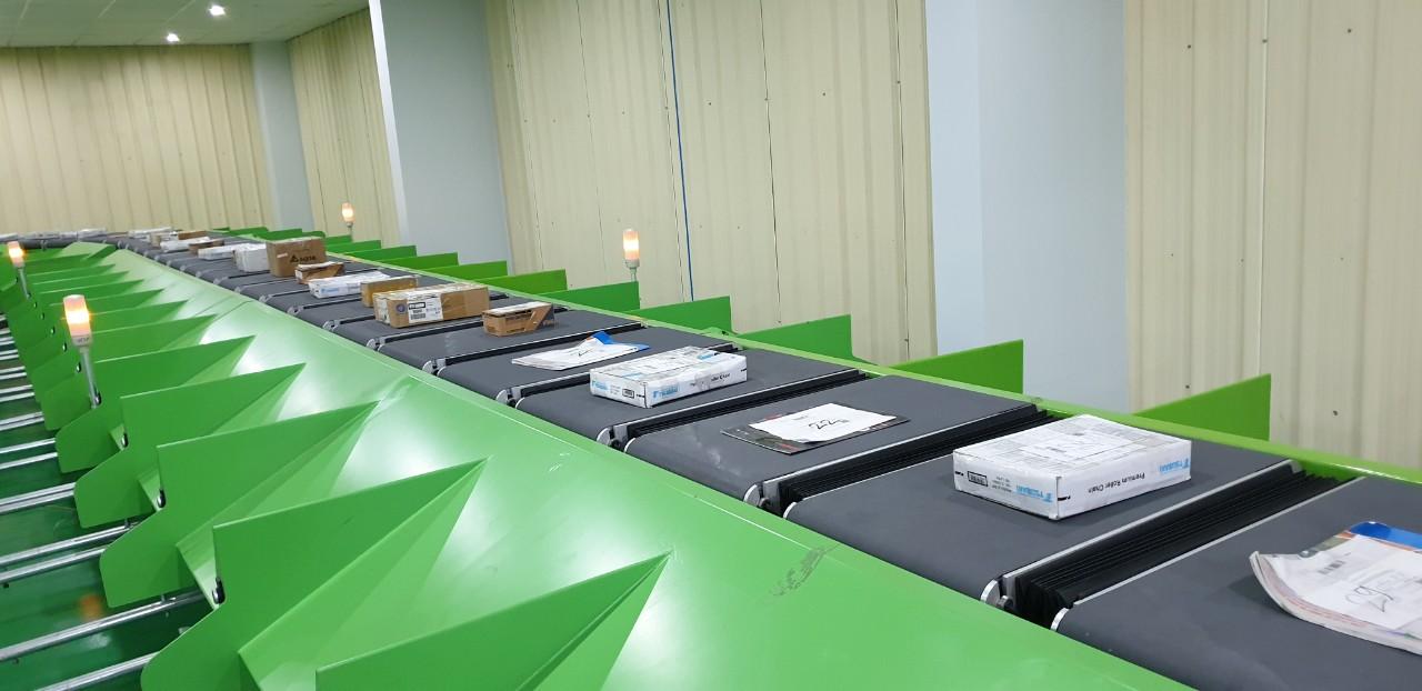 Hệ thống phân loại bưu kiện