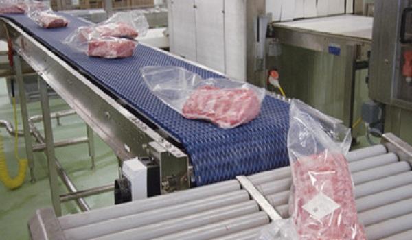Băng tải chế biến thịt