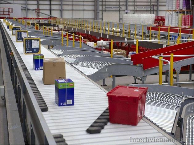 Hệ thống băng tải phân loại